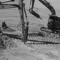 أعمال الحفر و الهدم و الردم و الدك